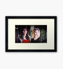 Drusilla and Darla. Framed Print