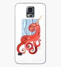 Magic Octopus - Red Case/Skin for Samsung Galaxy