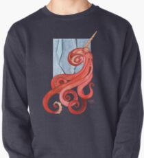 Magic Octopus - Red Pullover