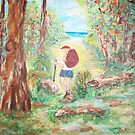 Forest Walk  by Mary Sedici