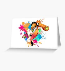 Let's Ink It - Splatoon Greeting Card