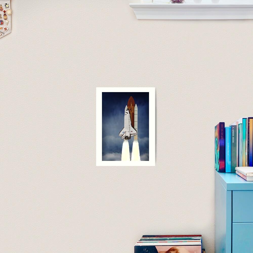 Space Shuttle 1981-2011 Art Print