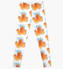 Magic Octopus - Orange Leggings