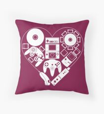 Nintendo Love Throw Pillow