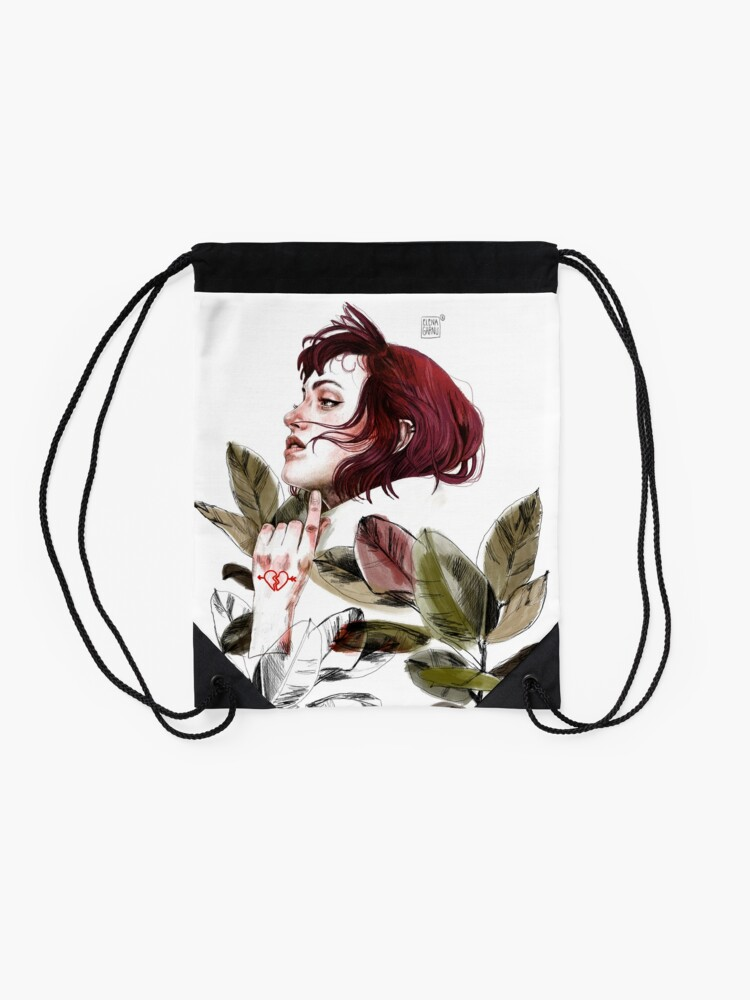 Vista alternativa de Mochila saco Broken heart