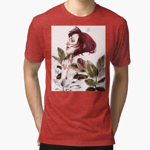 Broken heart Tri-blend T-Shirt