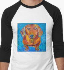 Camiseta ¾ bicolor para hombre Foxy Doxie