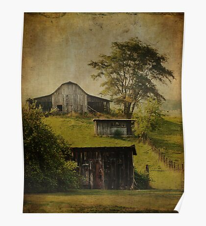 Blue Ridge Barns Poster