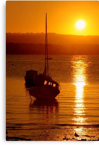 Skerries Harbour October Sunset  by Martina Fagan