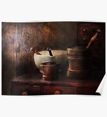 Apothecary - Pick a Pestle  Poster