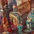 Apothecary - A Series of bottles by Michael Savad
