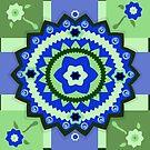 Flowery Tile Design by elledeegee