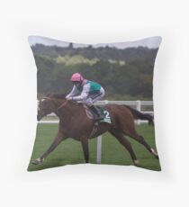 Frankel Stretches Out Throw Pillow