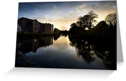 UpRiver On The Lee By The Maltings by rorycobbe