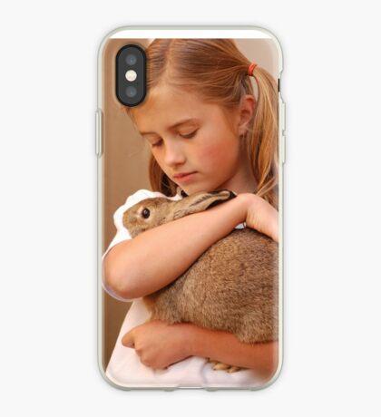 my fuzzy valentine iPhone Case