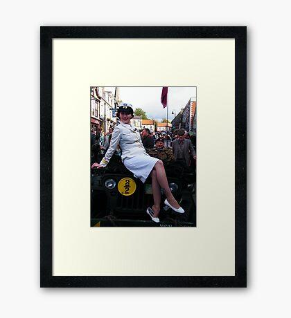 War Weekend at Pickering UK 9 Framed Print