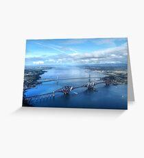Forth Bridges Greeting Card