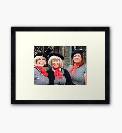 War Weekend at Pickering UK 13 Framed Print