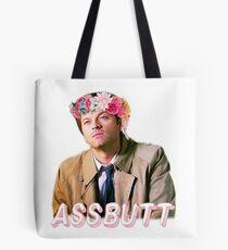 Castiel Assbutt Flower Crown Tote Bag
