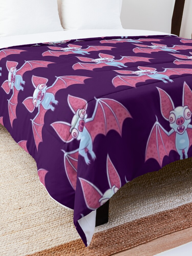 Alternate view of Albino Vampire Bat Comforter