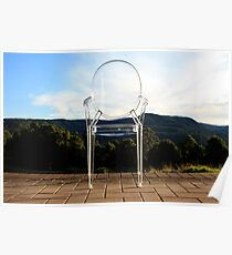 Chair in nature Poster