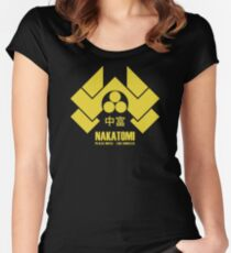 Nakatomi Plaza Women's Fitted Scoop T-Shirt