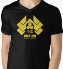 Nakatomi Plaza Men's V-Neck T-Shirt