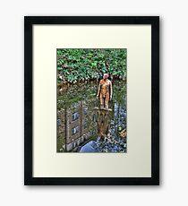 Reflections on Art Framed Print