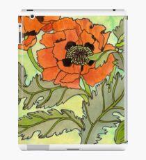 Oriental Poppy iPad Case/Skin
