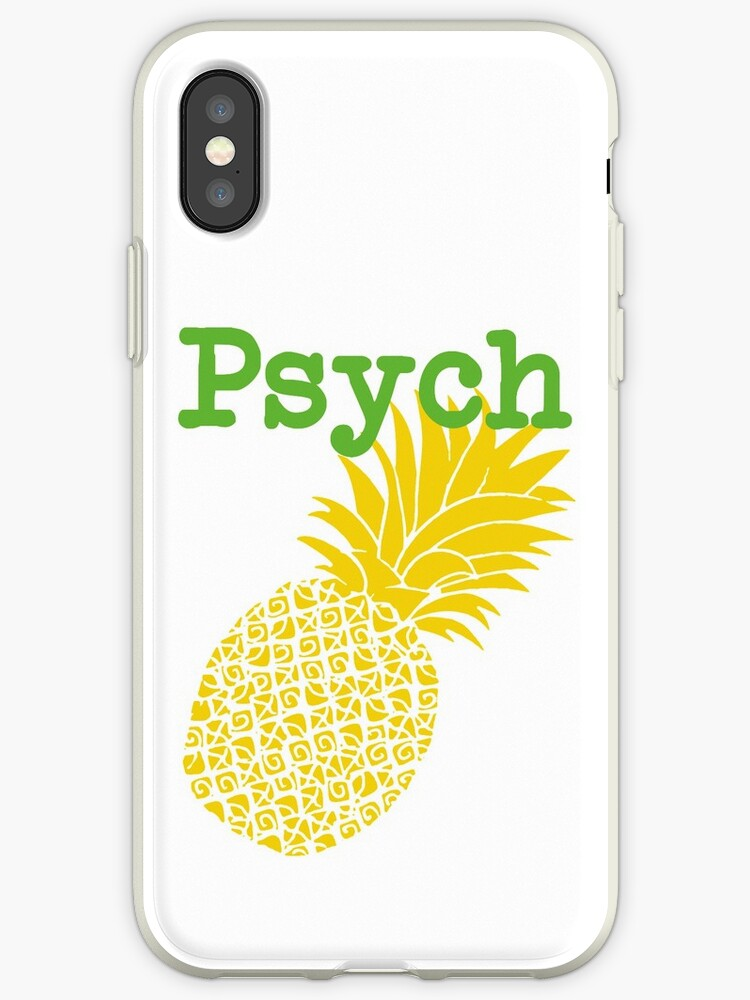 Minimalist Psych TV Show Pop Culture Lime Yellow Fun Green Pineapple by CanisPicta