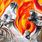Fire and the fury by Donna Macarone