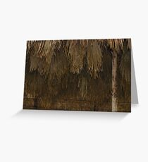Thatched Greeting Card