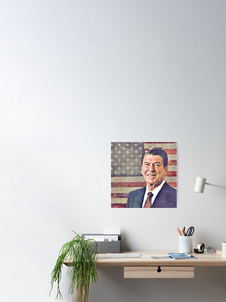 Alternate view of Patriot Ronald Reagan Poster
