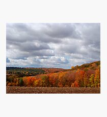 Fall Scenery 1 Photographic Print