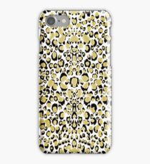 All That Glitters Is Gold Shimmering Leopard Print iPhone Case/Skin
