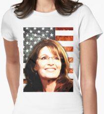 Sarah Palin Patriot Women's Fitted T-Shirt