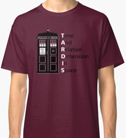 tIME bOX 3 Classic T-Shirt