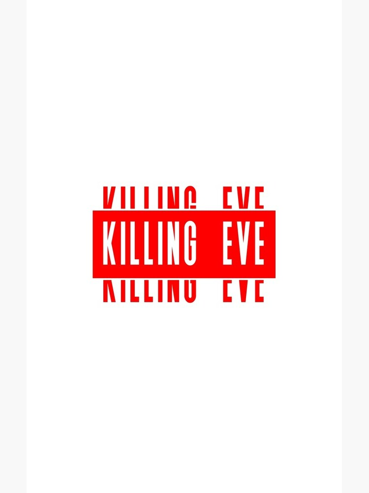 Killing Eve Simple Title by someteaandtoast