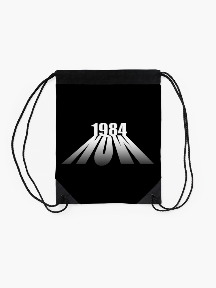 Alternate view of Orwell 1984 Drawstring Bag