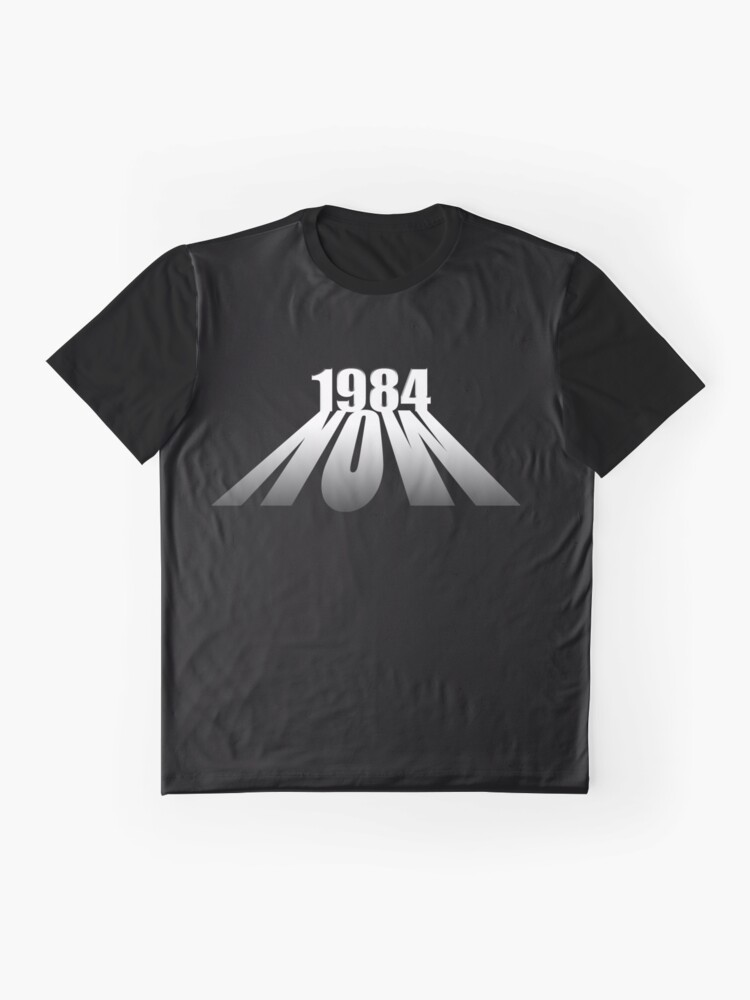 Alternate view of Orwell 1984 Graphic T-Shirt
