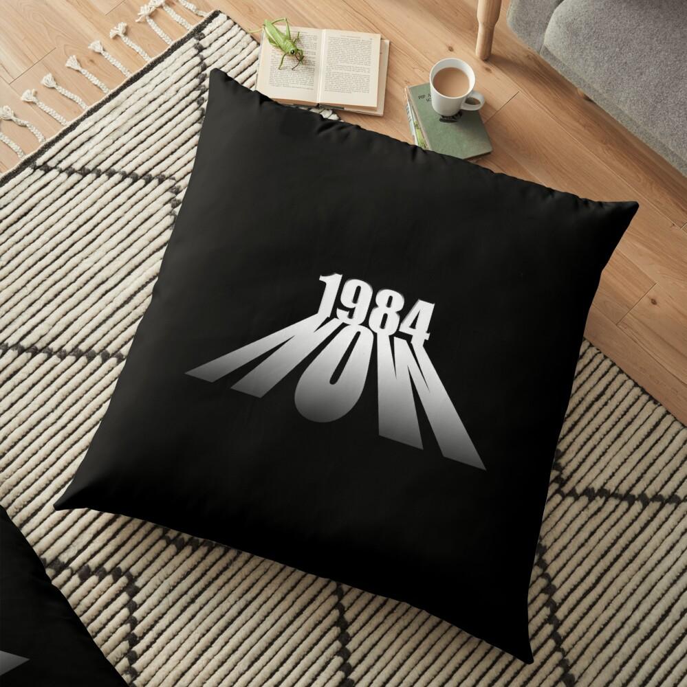 Orwell 1984 Floor Pillow