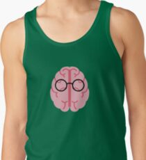Brain Glasses Tank Top