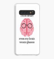 Brain Glasses – Text Case/Skin for Samsung Galaxy