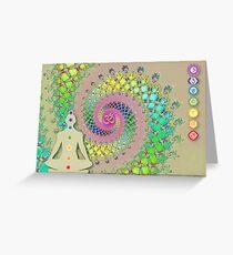 Chakra Greeting Card