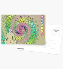 Chakra Postcards