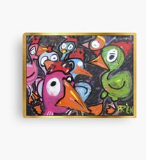 The chicks Canvas Print