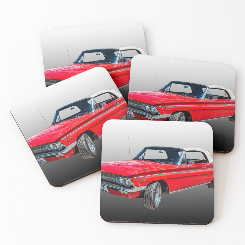 1962 Oldsmobile F85 Cutlass Convertible Coasters (Set of 4)