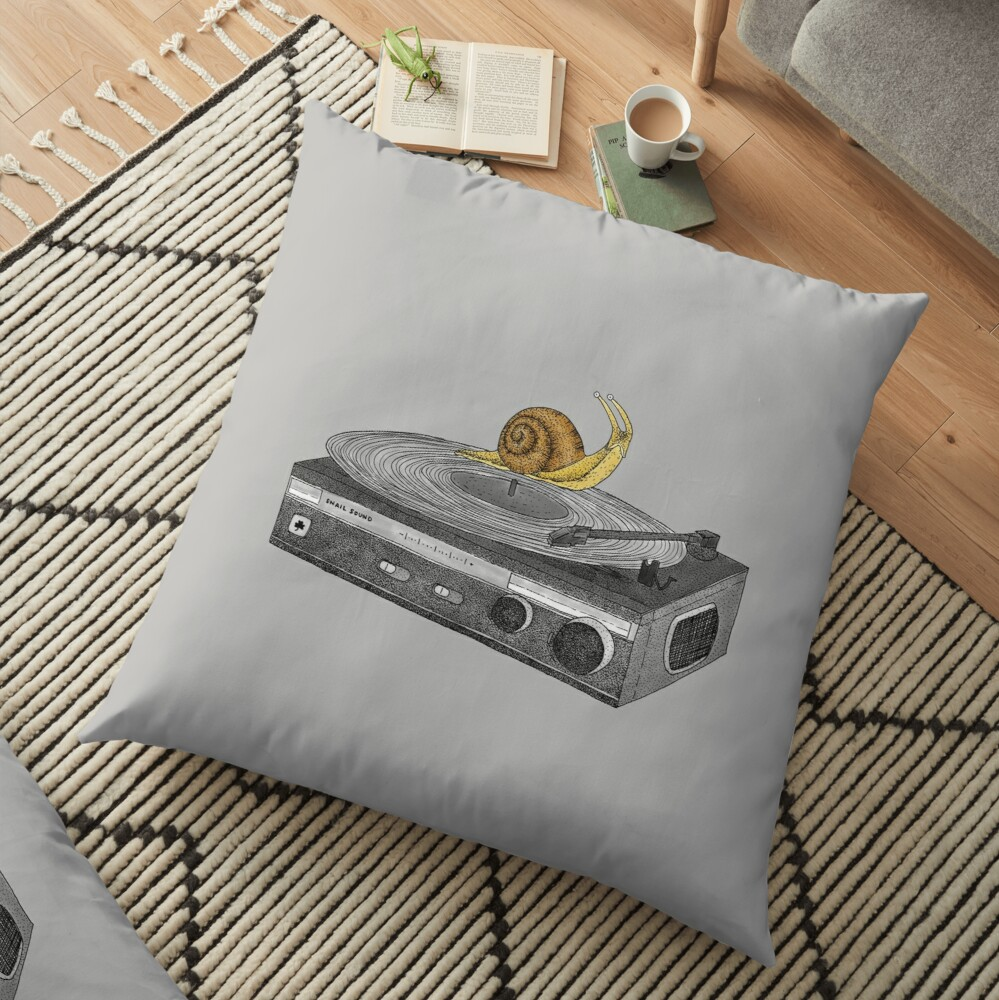 Slow Jamz Floor Pillow