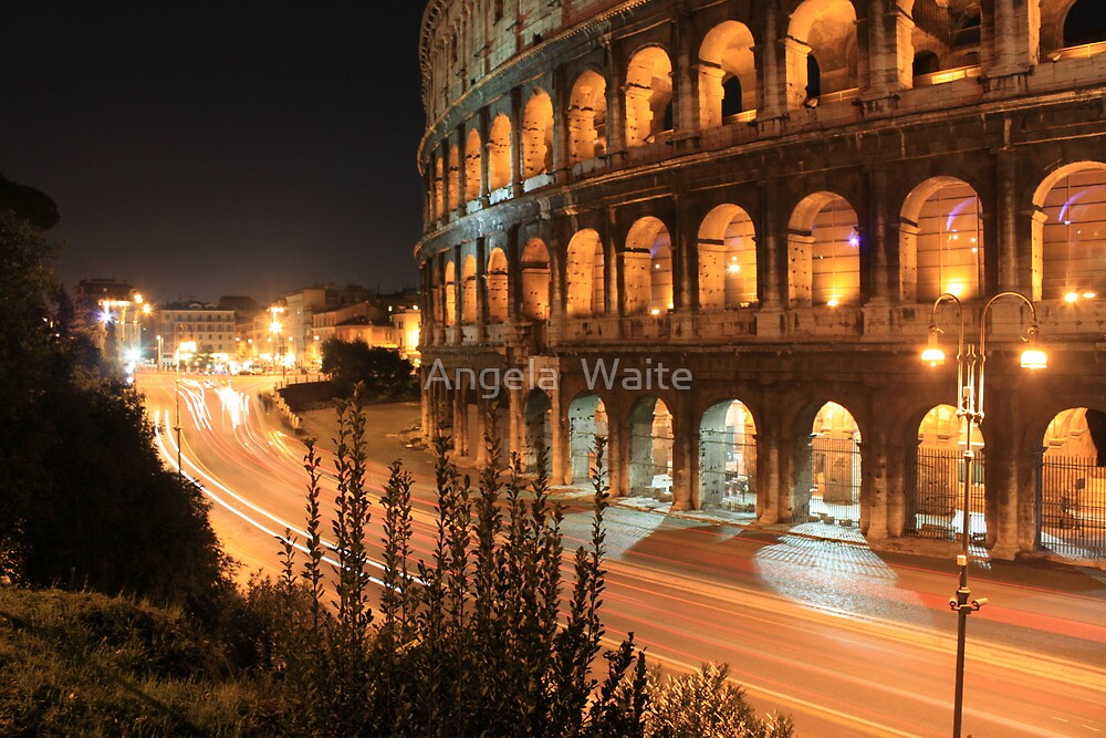 Amphitheatrum Flavium by Angela  Waite