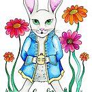The White Rabbit by wonderfulhippie